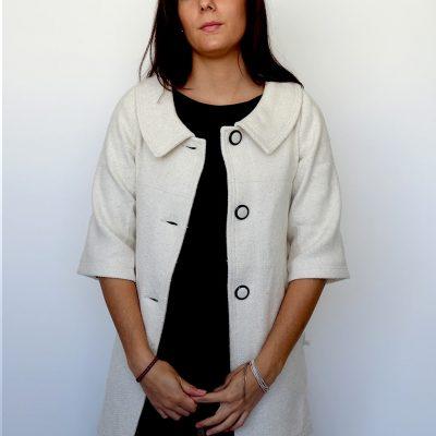 Abrigo Alicia Urbana - Solram Blanco Abierto