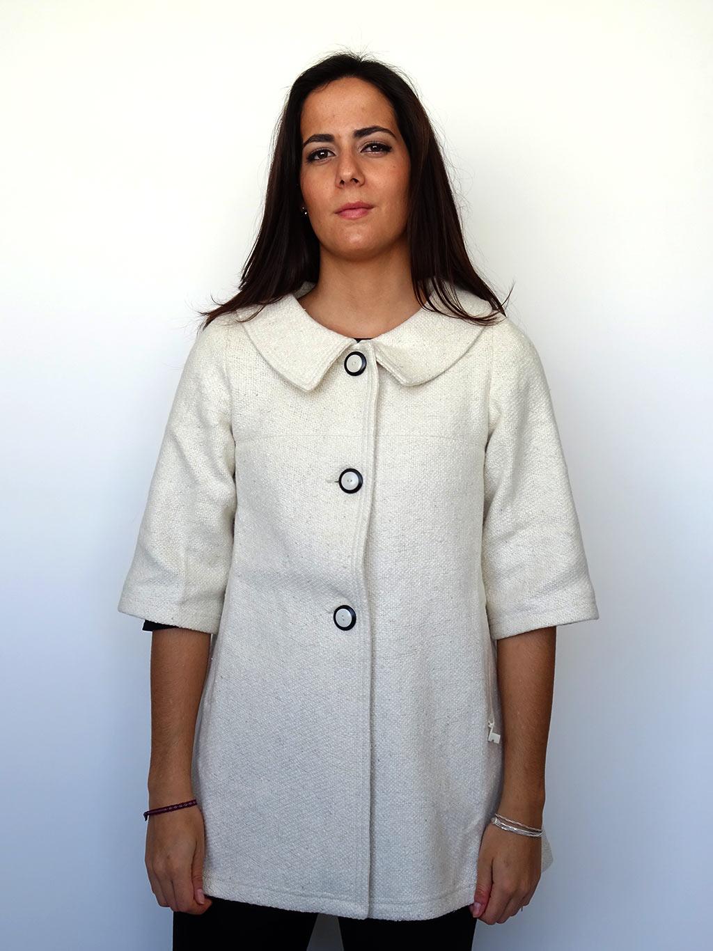 Abrigo Alicia Urbana - Solram Blanco Cerrado